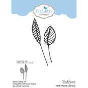 Pair Of Leaves 2 - Elizabeth Craft Metal Die By ModaScrap Designs