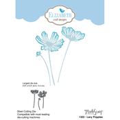 Lacy Poppies - Elizabeth Craft Metal Die By Modascrap Designs