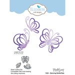 Dancing Butterflies - Elizabeth Craft Metal Die By Modascrap Designs