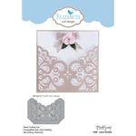 Lace Pocket - Elizabeth Craft Metal Die By Modascrap Designs