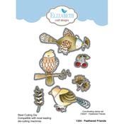 Feathered Friends - Elizabeth Craft Metal Die By Krista Designs