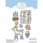 Birch Forest - Elizabeth Craft Metal Die By Krista Designs