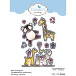 Zoo Babies - Elizabeth Craft Metal Die By Krista Designs