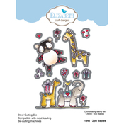 Zoo Babies - Elizabeth Craft Metal Die By Krista Designs