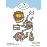 Jungle Cuties - Elizabeth Craft Metal Die By Krista Designs