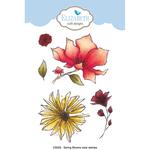 Spring Blooms - Elizabeth Craft Clear Stamps By Krista Designs
