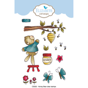 Honey Bear - Elizabeth Craft Clear Stamps By Krista Designs
