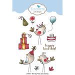 Bird-Day Party - Elizabeth Craft Clear Stamps By Krista Designs
