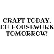 """Craft Today - Art Impressions Girlfriends Cling Rubber Stamp 3.25""""X2.75"""""""