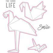 Birds - Origami Love Stamp & Die Set