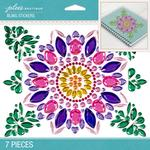 Mega Spring Flower Bling Dimensional Stickers - Jolees