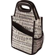 Storage Studios Typography Spinning Craft Tote