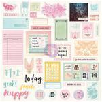 Sweet Notes - Prima Traveler's Journal Ephemera & Stickers
