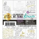 Be Free W/Foil - My Prima Planner Coloring Journaling Cards