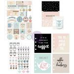 Coffee & Tea Lovers - My Prima Planner Goodie Pack Embellishments