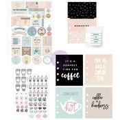 Coffee & Tea Lovers - My Prima Planner Goodie Pack Embellishments