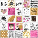 Beauty Fashion - My Prima Planner Stickers