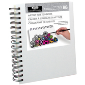 """Canvas Cover Sketchbook 4.1""""X5.8"""""""