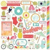 For The Love Of Summer Element Stickers - Photoplay