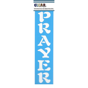 "Prayer - Clear Scraps Border Stencils 3""X12"""