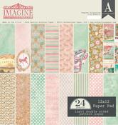 Imagine 12 x 12 Paper Pad - Authentique