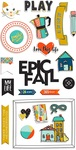 Family & Co Chipboard Stickers - Fancy Pants