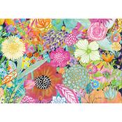 """Garden Wildflowers - Jigsaw Puzzle 1000 Pieces 29""""X20"""""""