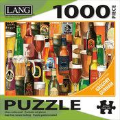 "Crafted Brews - Jigsaw Puzzle 1000 Pieces 29""X20"""