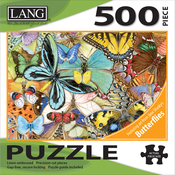 "Butterfly Dreams - Jigsaw Puzzle 500 Pieces 24""X18"""