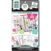 Watercolor - Create 365 Happy Planner Sticker Value Pack
