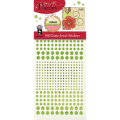 Jewel-Lime - Dazzles Stickers
