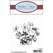 "Shamrocks - Prickley Pear Cling Stamps 2.75""X2.25"""