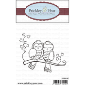 """Love Birds - Prickley Pear Cling Stamps 2.75""""X2.25"""""""