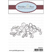 """Shamrock Swag - Prickley Pear Cling Stamps 3.25""""X1.75"""""""