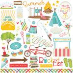 Summer Bucket List Element Stickers - Photoplay