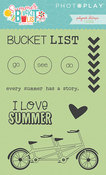Summer Bucket List Icon Stamps - Photoplay