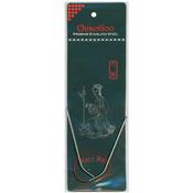 "Size 000/1.5mm - Red Circular Knitting Needles 12"""