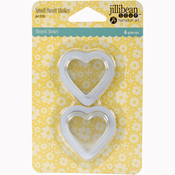 Small Hearts - Jillibean Soup PVC Card Shakers 6/Pkg