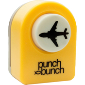 Airplane - Punch Bunch Small Punch Aprrox. .4375""