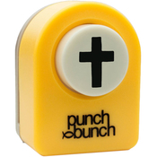 Cross - Punch Bunch Small Punch Aprrox. .4375""