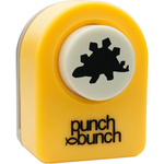 "Stegosaurus - Punch Bunch Small Punch Aprrox. .4375"""