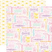 Wish Come True Paper - Perfect Princess - Echo Park