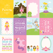 3x4 Journaling Cards Paper - Perfect Princess - Echo Park