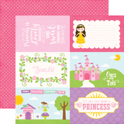 4x6 Journaling Cards Paper - Perfect Princess - Echo Park