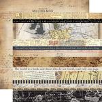 Border Strips Paper - Transatlantic Travel - Carta Bella