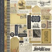 Transatlantic Travel Sticker Sheet - Carta Bella