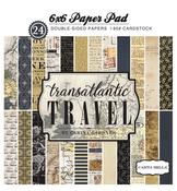 Transatlantic Travel 6x6 Paper Pad - Carta Bella