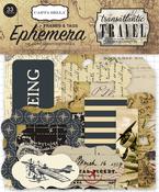 Frames & Tags Ephemera - Transatlantic Travel - Carta Bella