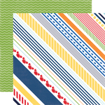 Crabby Stripe Paper - Under The Sea - Echo Park