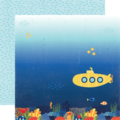 Submarine Scene Paper - Under The Sea - Echo Park